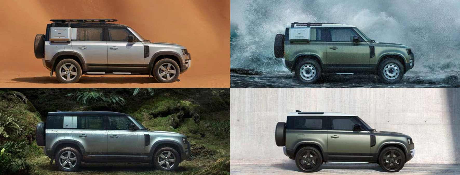 LAND ROVER DEFENDER COVER