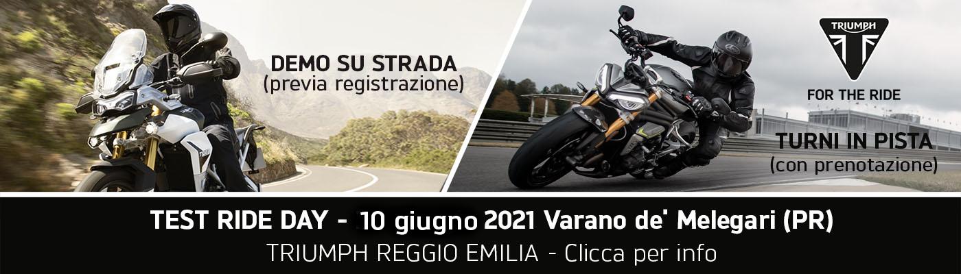 test_ride_triumph_reggio_emilia